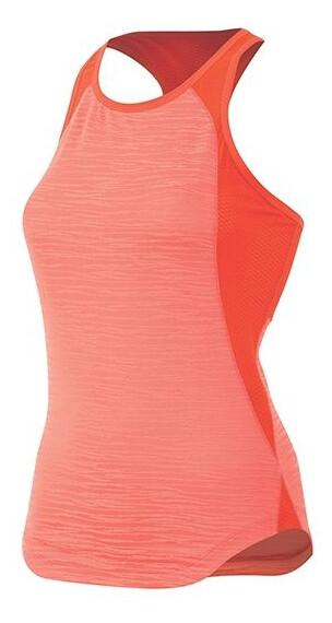 Pearl Izumi W's Flash Singlet Living Coral/Mandarin Red